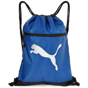 NWT PUMA BLUE CARRYSACK MEN'S BACKPACK